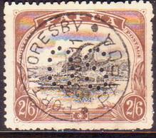 "PAPUA (BRITISH NEW GUINEA) 1910-11 SG #O36 2sh6d Used Official Large 'PAPUA"" Type ""B"" Perf.12½ CV £35 - Papua New Guinea"