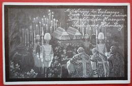 AUSTRIA - BEERDIGUNG ERZHERZOG FRANZ FERDINAND UND HERZOGIN SOPHIE VON HOHENBERG - Familles Royales