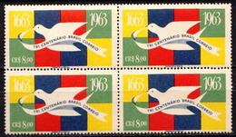 Brazil MNH Stamp In Block Of 4 - Brazil