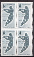 Brazil MNH Stamp In Block Of 4 - Athletics