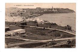 MAROC . RABAT . VUE GÉNÉRALE - Réf. N°21578 - - Rabat