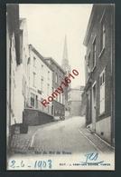 REBECQ. Rue Du Roi De Rome. 1903.  2 Scans - Rebecq