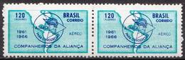 Brazil MH Stamp In Pair - Brazil