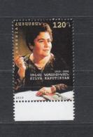 Armenia Armenien MNH** 2019 Famous Armenian Poet Sylvia Kaputikyan Mi 1104 - Armenien