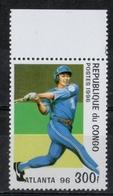Repubblica Del Congo Republic Of Congo 1996 - Giochi Olimpici Atlanta Olympic Games Baseball MNH ** - Baseball