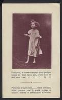 COMPAGNIE HOLLANDAISE D'ASSURANCES SUR LA VIE * UTRECHT * IMAGE D'ENFANT * 2 SCANS - Publicités