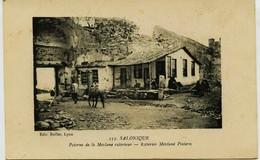 3392 -  Gréce  :   SALONIQUE  :  POTERNE DE LA MELVANE EXTERIEURE   - CIRCULEE En 1918    ( T.Rare) - Griechenland