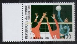 Repubblica Del Congo Republic Of Congo 1996 - Giochi Olimpici Atlanta Olympic Games Pallavolo Volleyball MNH ** - Pallavolo