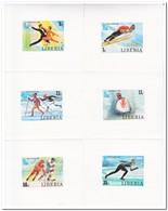 Liberia 1980, Postfris MNH, Olympic Winter Games - Liberia