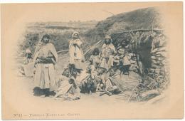 Famille Kabyle Au Gourbi - Arnold Vollenweider, Alger - Szenen