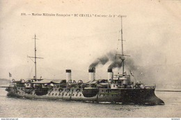 """Marine Militaire Française """" DU CHAYLA """"- Croiseur De 1° Classe  ... - Guerre"""