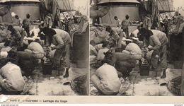 A Bord D' Un Cuirassé- Lavage Du Linge  ... - Guerre