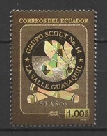 Ecuador (2013) - Set -   /  Scouts - Scouting - Scout Group #14 - La Salle Guayaquil - Unusual PRINTING - Zonder Classificatie