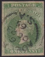 South Australia      .     Stamp  ( 2 Scans )      .  O    .         Cancelled      .  /   .  Gebruikt - Gebruikt