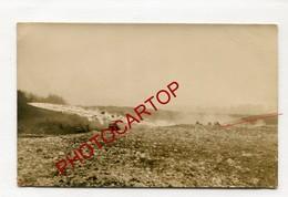 LANCE-FLAMMES-FLAMMENWERFER-Carte Photo Allemande-Guerre14-18-1 WK-Militaria-Technique-Armement-France- - Guerre 1914-18