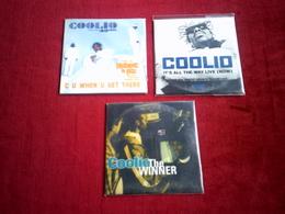 COOLIO  ° COLLECTION DE 3 CD  SINGLE  2  TITRES - Musique & Instruments