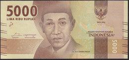 Indonesia 5000 Rupiah 2016 UNC - Indonesia