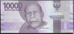 Indonesia 10000 Rupiah 2016 PnewUNC - Indonésie