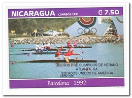 Nicaragua 1991, Postfris MNH, Olympic Summer Games - Nicaragua