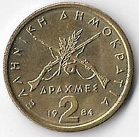 Greece 1984 2 Drachmas [C830/2D] - Grèce