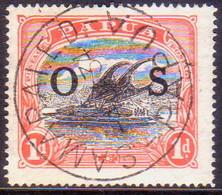 PAPUA (BRITISH NEW GUINEA) 1931 SG #O56 1d Official Used CV £18.00 - Papoea-Nieuw-Guinea