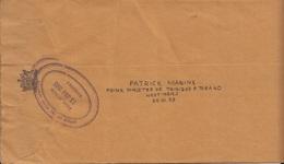 Prime Minister Of Trinidad & Tobago Cover To Pakistan    (RED-4000-special-4) - Trindad & Tobago (1962-...)