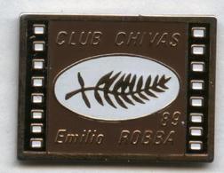 Pin's Boisson Alcool Whisky Whiskey Bourbon Chivas Film Cinéma Cannes 1989 Emilio Robba - Cine