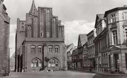 Perleberg. Großer Markt Mit Rathaus (Westgiebel), N 1/66. - Perleberg