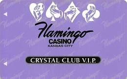 Flamingo Hilton Casino - Kansas City MO - Rare 5th Issue Slot Card BLANK   ....[RSC]..... - Casino Cards