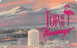 Flamingo Casino Reno NV - Top Of The Flamingo Hilton Diners Club Card  (Blank)   ....[RSC]..... - Casino Cards