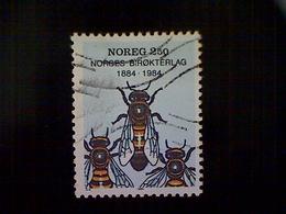Norway, Scott #845, Used (o), 1984, Worker Bees, 2.50k, Multicolored - Norway