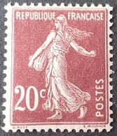 FD/3043 - 1907 - TYPE SEMEUSE - N°139 NEUF** - France