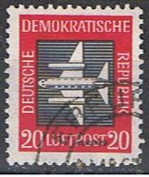 DDR (AL 444) // YVERT 2 POSTE AÉRIENNE //  1957 - [6] República Democrática
