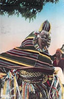 Afrique Noire MASQUE RITUEL (mask)  - - Editions HOA-QUI Clichè M A.de Blonay  609*PRIX FIXE - Non Classés