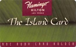 Flamingo Casino - Las Vegas NV - The Island Card - Slot Card - TC5 Issue   ....[RSC]..... - Casino Cards