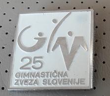 Gymnastic Federation Of Slovenia  Pin Badge - Ginnastica