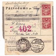Latvija Lettonie Launkalne 1930 Riga Latvia Zehsis Latwija - Letland