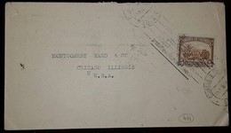 L) 1939 COLOMBIA, SOFT COFFEE, PALM, 5C, BROWN, CIRCULATED COVER FROM COLOMBIA TO USA - Colombia