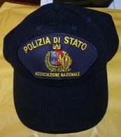 ITALIA - 2 BERRETTI DA COLLEZIONE POLIZIA ITALIANA - Polizia