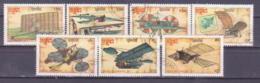 69-976 / KAMPUCHEA - 1987  AIRSHIPS  Mi 875/81 O - Kampuchea