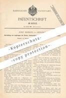Original Patent - Josef Heibling , Grenoble , 1895 , Eisen - Legierung Mit Mangan , Chrom , Aluminium Oder Nickel !! - Historische Dokumente