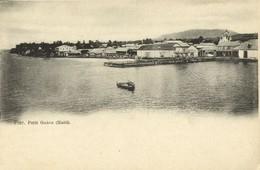 Haiti, PETIT-GOÂVE, Pier Panorama (1899) Postcard - Haïti