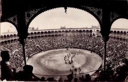 POSTAL Nº62, PLAZA DE TOROS DE MADRID - ESPAÑA. (420) CIRCULADA - Corridas