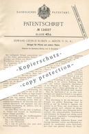 Original Patent - Edward George Kubler , Akron , USA , 1900 | Striegel Für Pferde | Pferd , Tier , Striegeln | Reitsport - Historische Dokumente