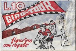 BUSTINA FIGURINE GIRO-TOUR ORVEDO SIGILLATA PIENA - Ciclismo
