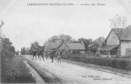 71- CPA LABERGEMENT SAINTE COLOMBE Avenue Des Plattes - Francia
