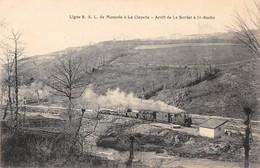 71- CPA Ligne  R.S.L .  De Monsols à La CLAYETTE  RARE - Francia