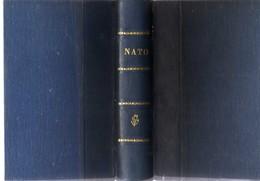 NATO: 9 Different Little Books In One Volume. 1.- NATO HANDBOOK (English) 2.- CHRONOLOGIA,(Greek) 3.- CONSULTATION POLIC - Bücher, Zeitschriften, Comics