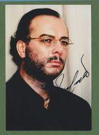 FERRUCCIO FURLANETTO Original Signed Glossy Photo AUTOGRAPHE / AUTOGRAMM  10/15 Cm *OPERA* - Autographes
