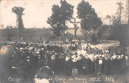 71- CPA Photo BAUGY Cinquantenaire De La Croix De Baugy 1er Mai 1913 - Francia